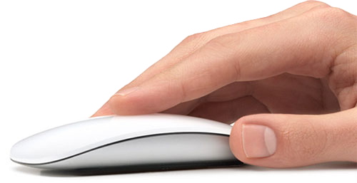 Bluetooth muis Apple magic mouse